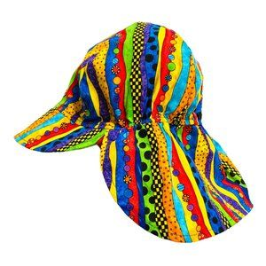 Vintage 90s Multi Print Sun Hat